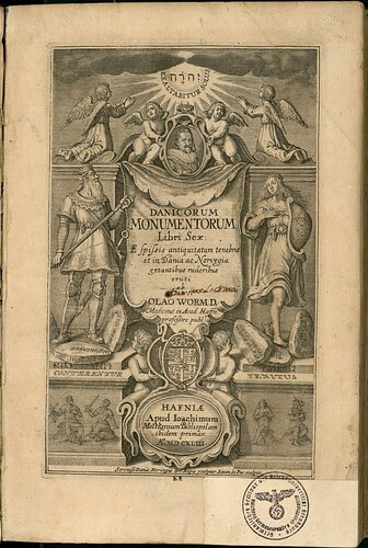 Danicorum monumentorum - Ole Worm - 1643 - 0001
