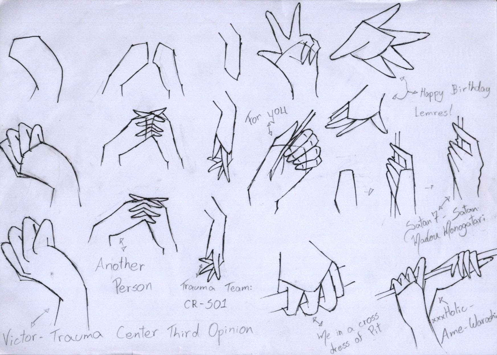 Drawing Anime Hands Tutorial Max Installer