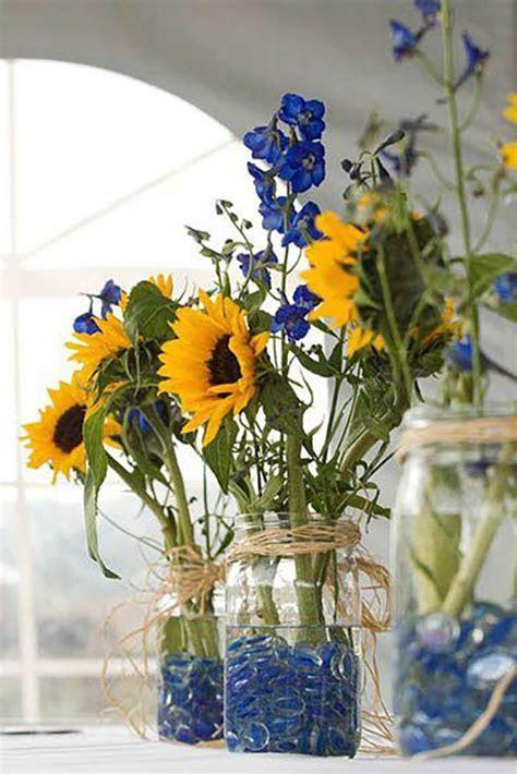 Best 25  Blue sunflower wedding ideas on Pinterest   Navy