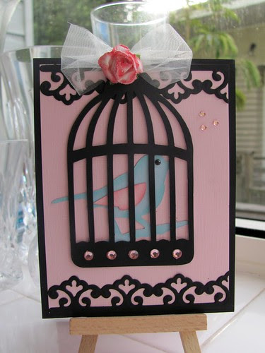 Birthday Easel card (closed)