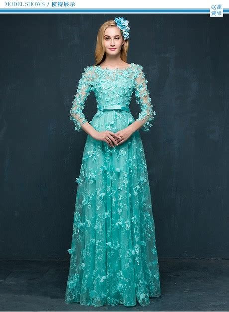 Teal occasion dress