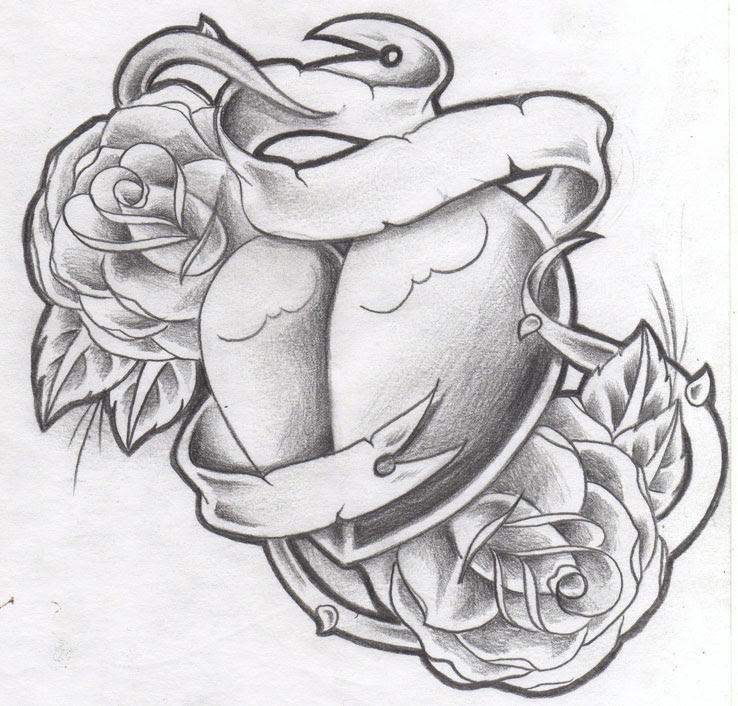 Heart Tattoo Designs Gallery 15