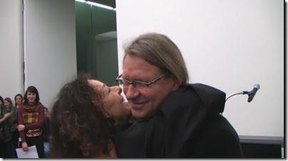 Peter Fischer und Ingeborg Lüscher