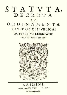 File:San Marino constitution 1600.jpg