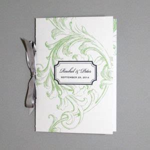 Flower Garden Wedding Ceremony Booklet ? Download & Print