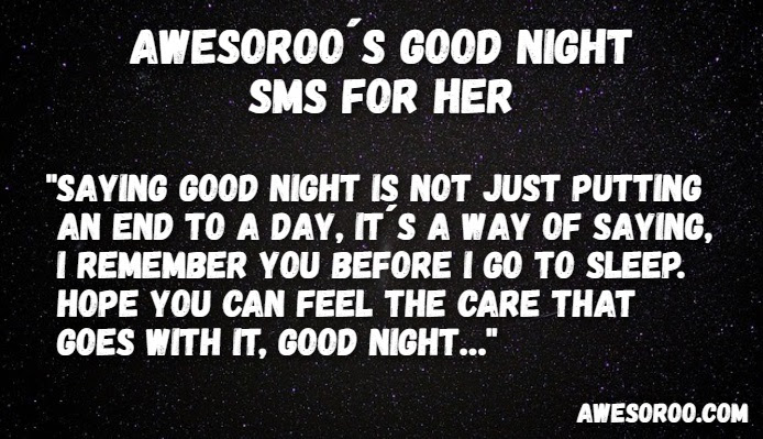 190 Really Cute Good Night Text Messages For Her Jan 2019