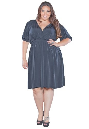 monty q plus length dresses