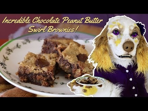 Incredible Chocolate Peanut Butter Swirl Brownies! - Episode 3 -  Bake Me Up Buttercup