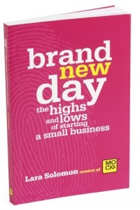 book cover: brand new day