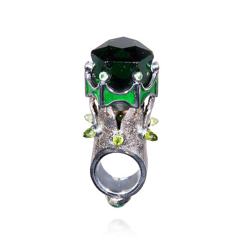 L'Heure de la Fée Verte - A Post-Apocalyptic Cocktail Ring for the Sipping of Absinthe - 1
