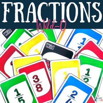 Fraction Wildo {Plays like UNO}