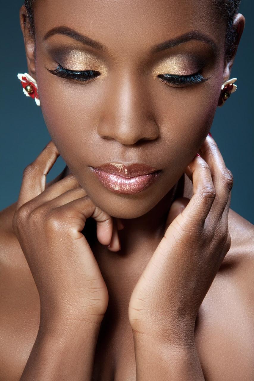 Maquiagem para pele morena