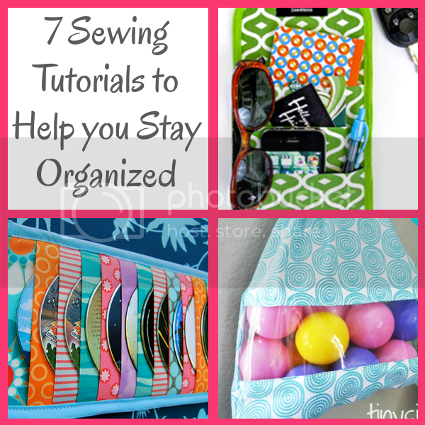 Diy home sweet home 7 sewing tutorials to help you stay for How to stay organized at home