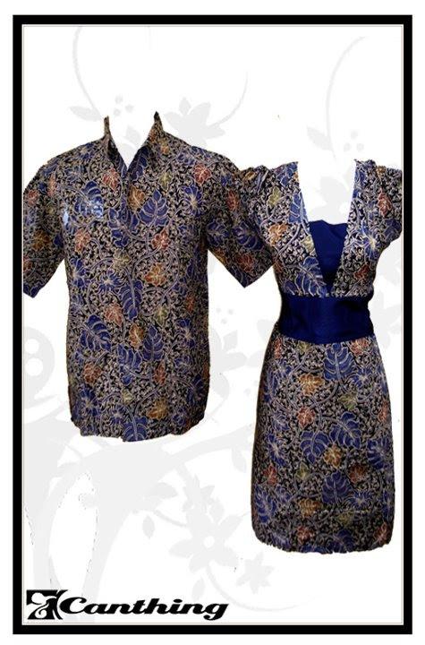 Sarimbit Batik Pelangi Daun Biru SPD 01 Canthing