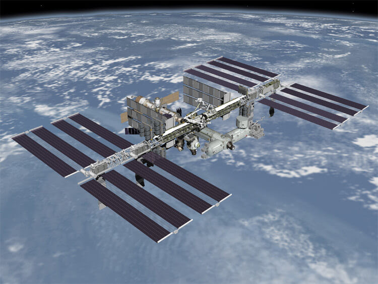 international space station completed 2010 2011 rendering