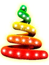 animated christmas tree