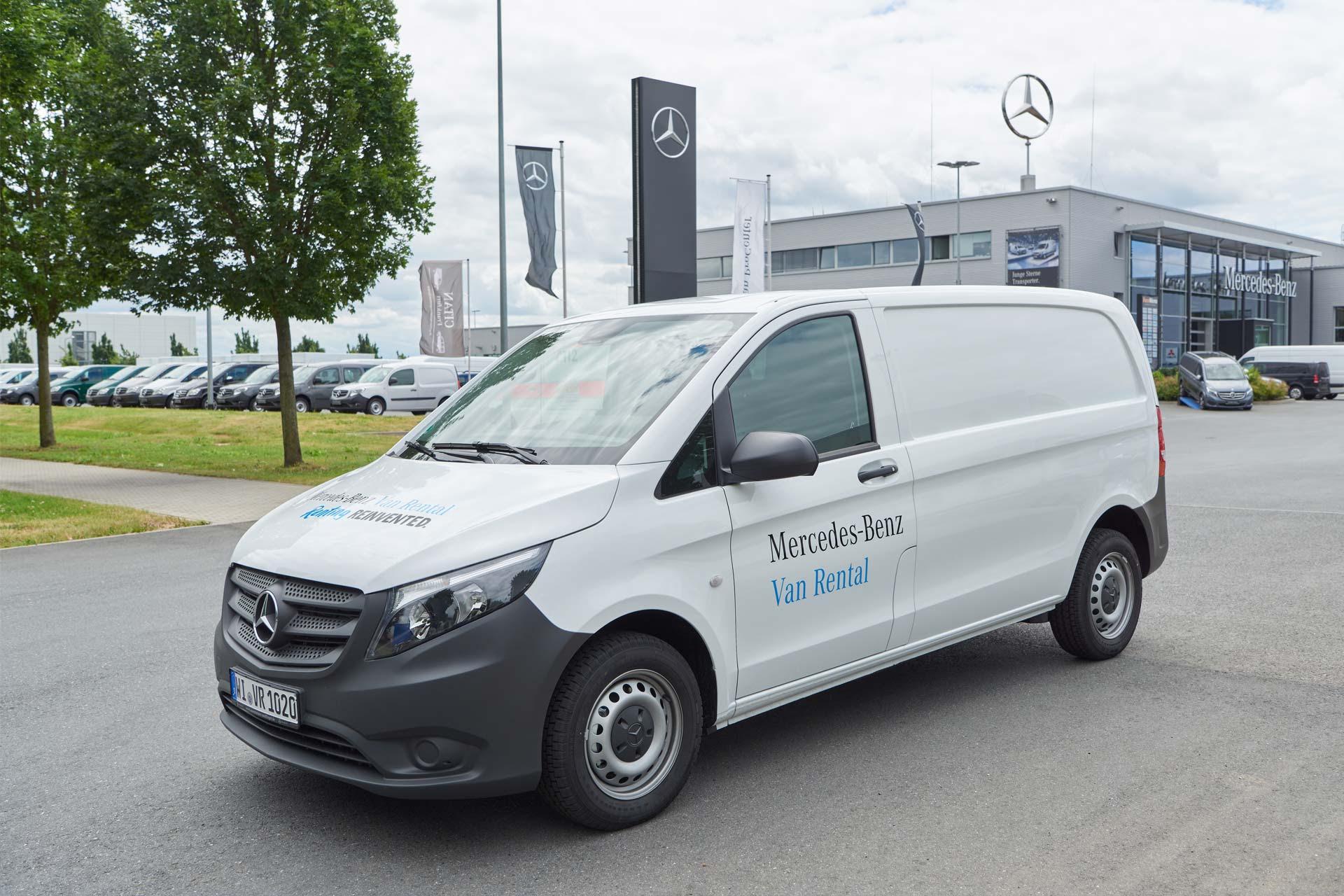 Mercedes-Benz launches Van Rental service in Germany ...