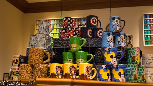 Disneyland Resort, Disney California Adventure, Captain America, Mug