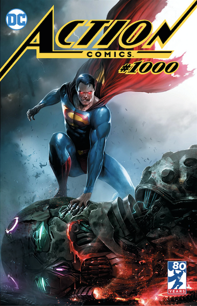 Action Comics 1000 Mattina Variant