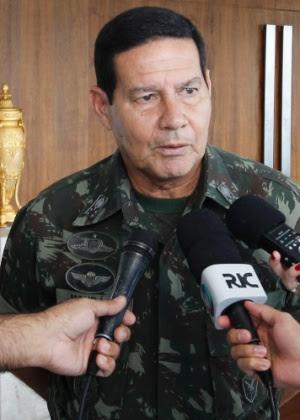 General Antonio Hamilton Martins Mourão, do Comando Militar do Sul