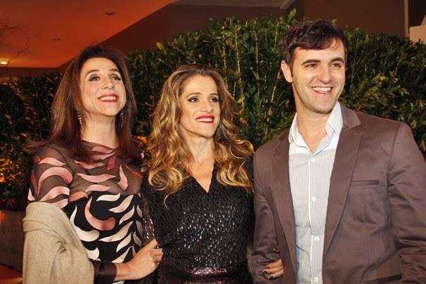 Marisa Orth, Ingrid Guimarães e Rodrigo Lopez vão garantir ótimas risadas (Foto: Nathalia Fernandes/Globo)