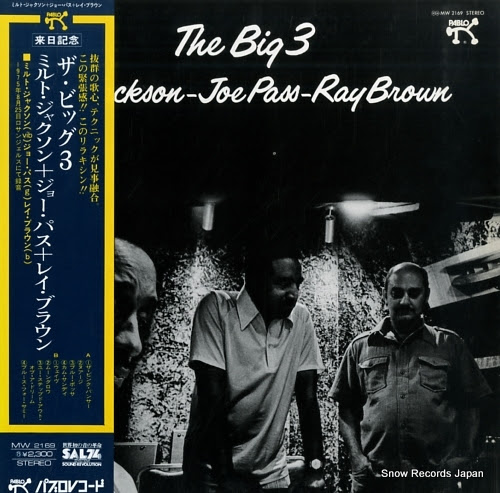 JACKSON, MILT - JOE PASS - RAY BROWN big 3, the