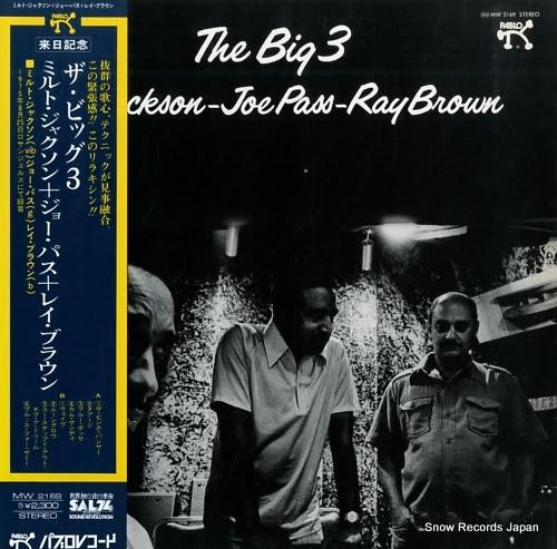 JACKSON, MILT - JOE PASS - RAY BROWN big 3, the