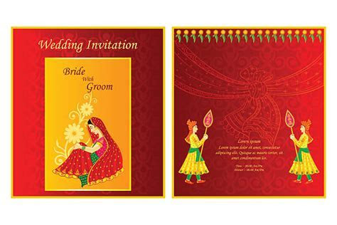 Best Hindu Wedding Illustrations, Royalty Free Vector