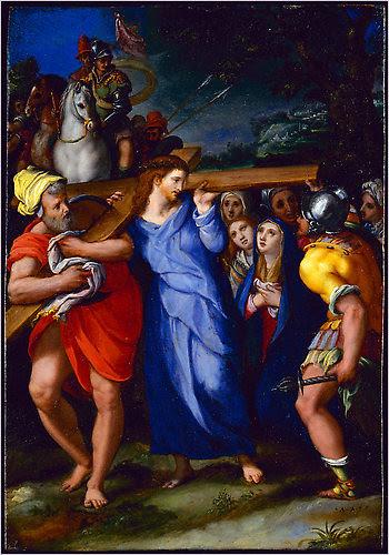 Christ Carrying the Cross, circa 1591–95, Alessandro Allori