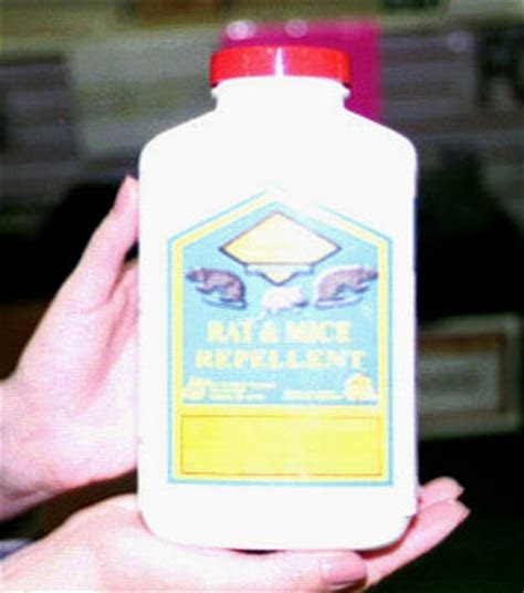 Rat and mouse repellent