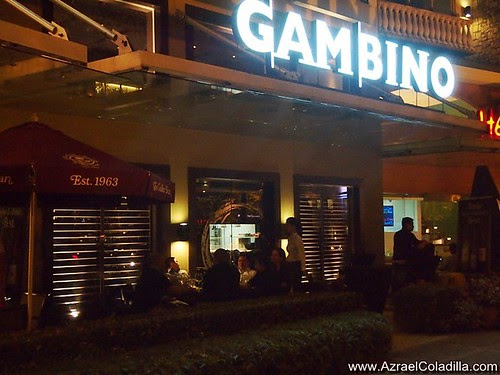 Gambino restaurant opens in Burgos Circle