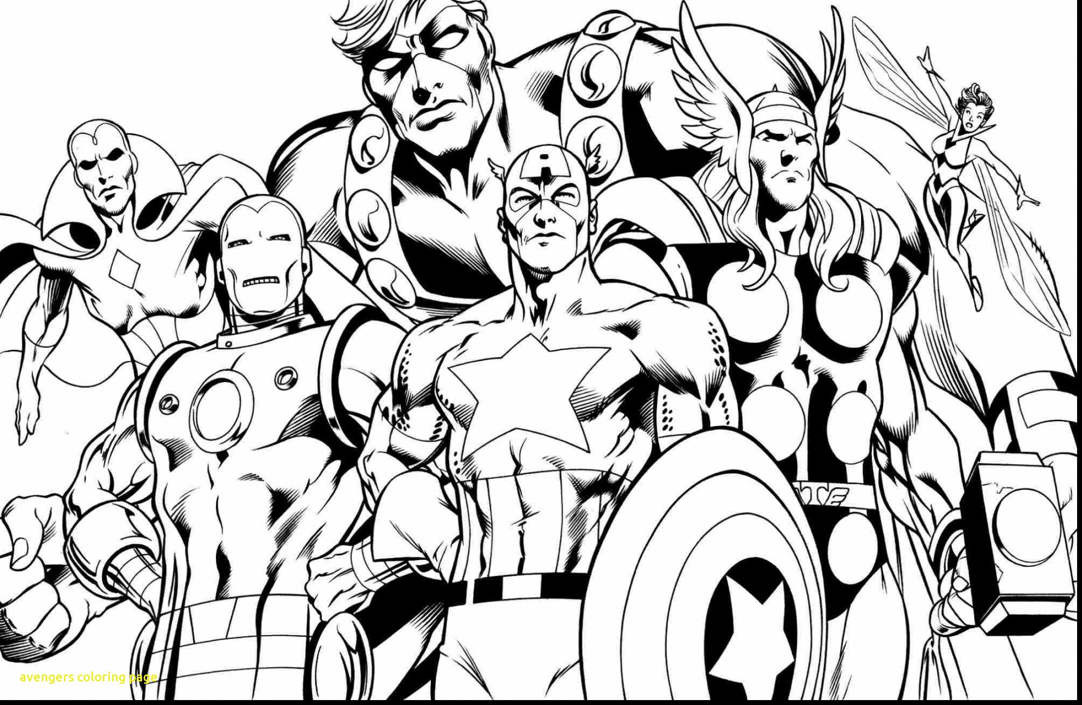 Marvel Avengers Logo Coloring Pages Total Update