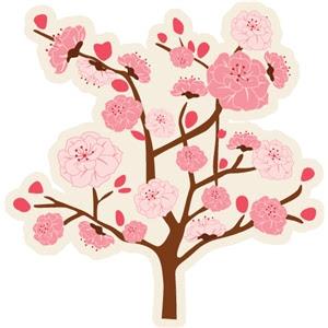 Silhouette Design Store View Design 30570 Cherry Blossom Tree