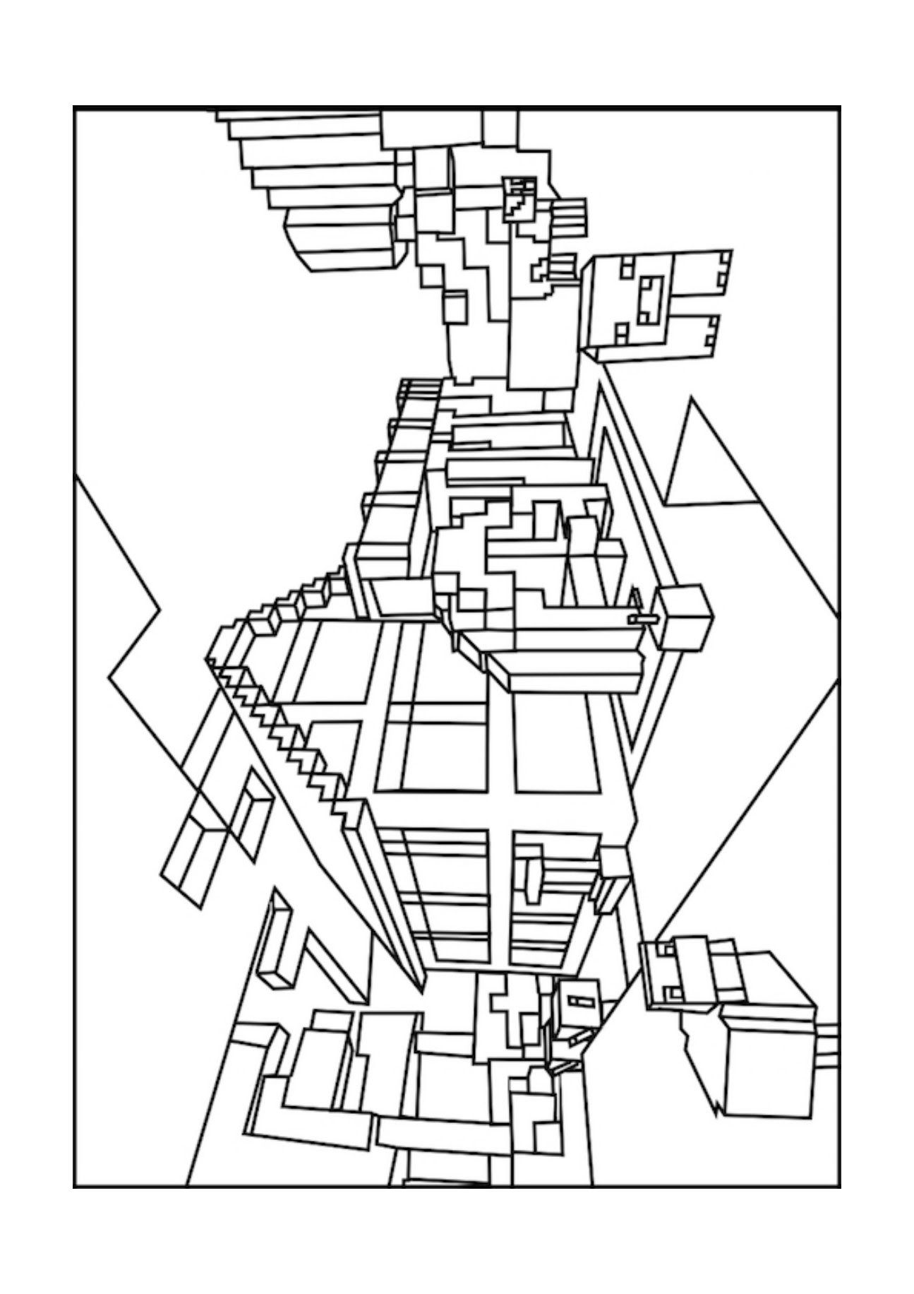 Minecraft Coloring Pages Zombie Coloring And Drawing