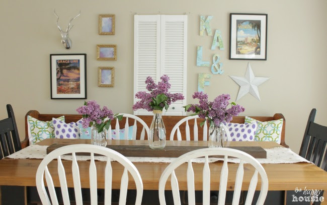 Living Dining Room Tour at The Happy Housie for Savvy Southern Style 15