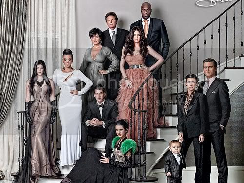 Kardashians Fashion Styles for Haute Holiday Card