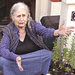 Doris Lessing spoke with reporters from her front porch in London after she won the 2007 Nobel Prize for Literature.