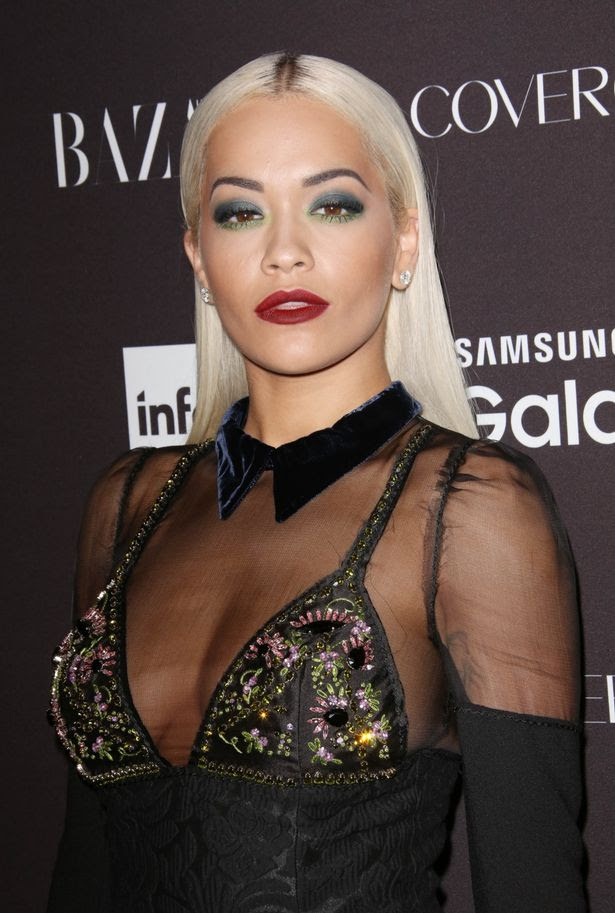 Rita Ora at Harper's Bazaar 2nd annual 'Icons' Portfolio Party, New York