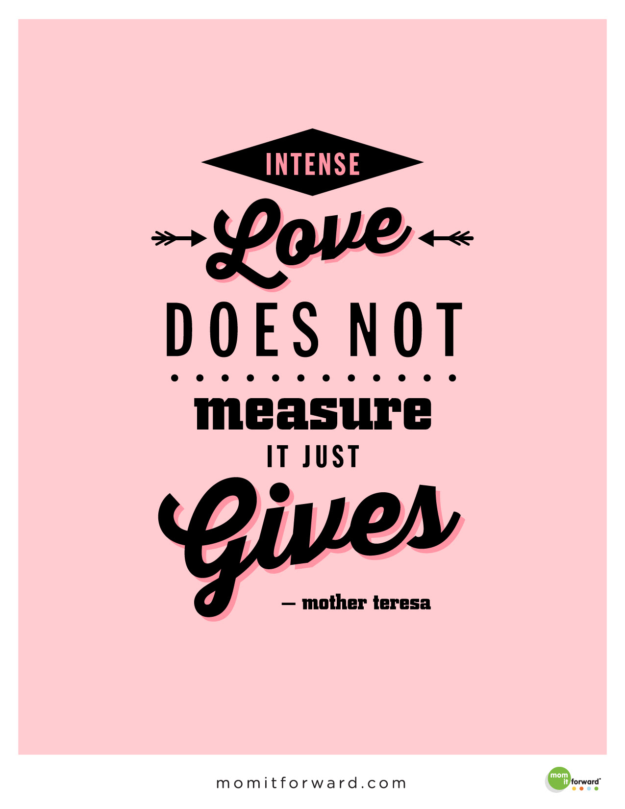Quote motherTeresa Gives 01