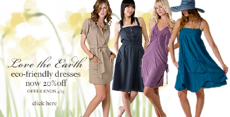 20% Off Eco-Friendly Dresses at eDressMe