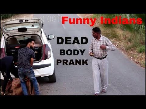 Latest funny video | Dead body Prank | Funny indian video | Pyscho prank...