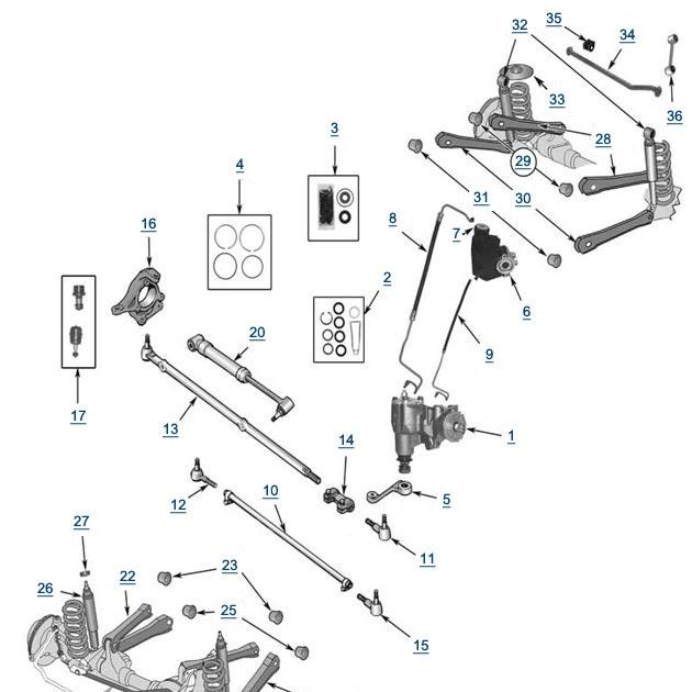 28 2000 Jeep Cherokee Front Suspension Diagram