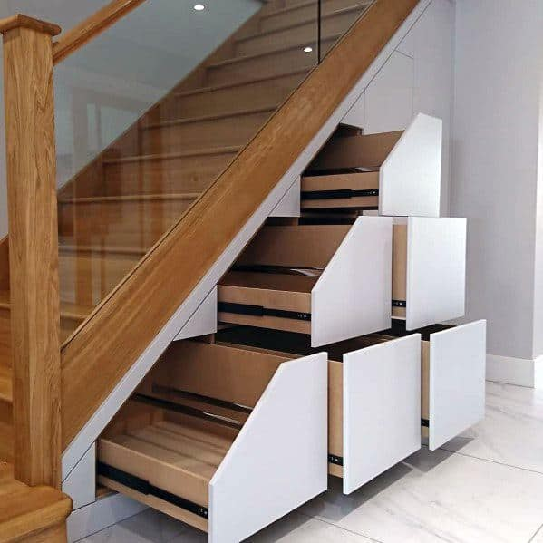 60 Unbelievable Under Stairs Storage Space Solutions: Awesome Small Cupboard Under Stairs Storage Ideas