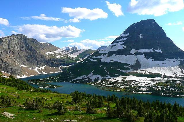P1170217 Hidden Lake and Bearhat Mountain