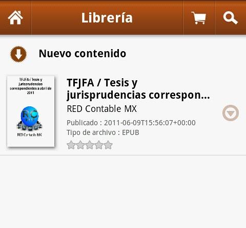 Nuevo e-book: Resumen TFJFA / Tesis y jurisprudencias correspondientes a abril de 2011
