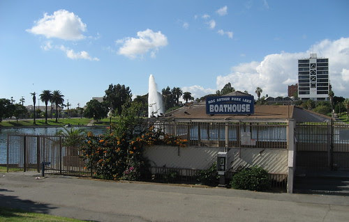 Boathouse, MacArthur Park