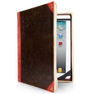Twelve South 洋書風iPadケース BookBook for iPad レッド TWS-BG-000006