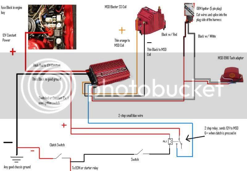 Msd 2 Step Wiring Diagram Site, Msd 2 Step 8739 Wiring Diagram