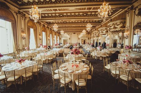 Lunch Wedding Reception at Gold Room (Fairmont San