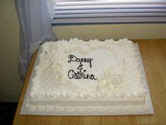 wedding sheet cakes on Pinterest   Wedding Sheet Cakes